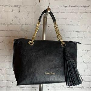 Calvin Klein Leather Black Crossbody